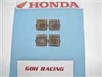400EX FRONT SET OF PADS, HONDA , BOTH SIDES