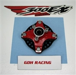 300EX SINGLE FRONT HUB RED 04 93-08