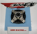 300EX SINGLE FRONT HUB SILVER 07 93-08