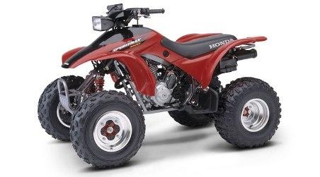 1993-2008 Fits Honda Sportrax TRX300EX 300EX Red O-Ring Chain 520-86