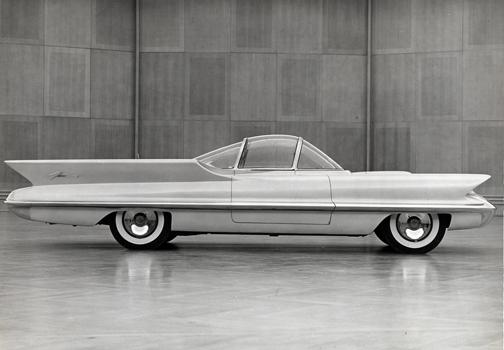 1955 Lincoln Futura Pearlescent White 1 18 Minichamps Predecessor To