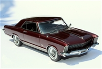 1965 Buick Riviera Gran Sport Press Car Edition Burgundy Mist 1:24