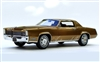 1968 Cadillac Fleetwood Eldorado Tribute Edition in Topaz Gold Firemist 1:24