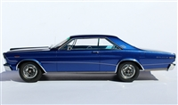 1966 Ford Galaxie 500 7-Litre Hardtop in Nightmist Blue 1:24 Barn Find Edition