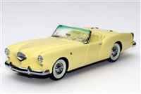 1954 Kaiser Darrin 161 Cabriolet Tribute Edition Yellow Satin 1:24