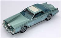 1978 Lincoln Continental Mark V Diamond Blue 1:24 Standard Edition