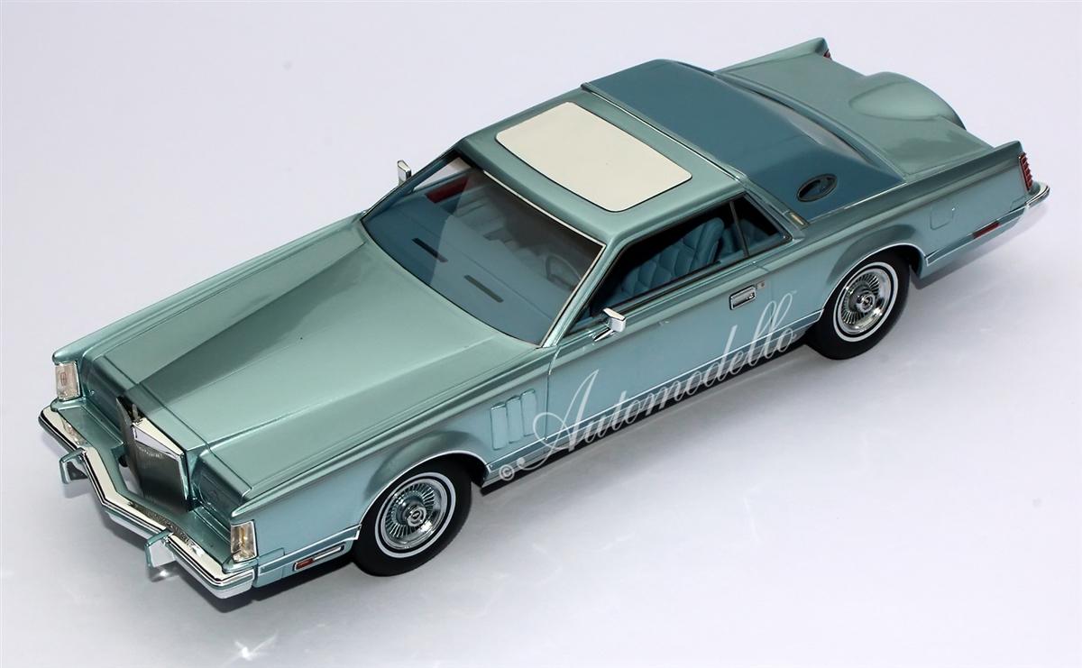 1978 Lincoln Continental Mark V Diamond Blue 1:24