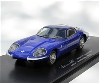 1964 Marcos 1800 RHD in Royal Blue  1:43 Tribute Edition