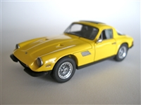 1976 - 1979 TVR Taimar Tribute Edition Yellow 1:43 Last ONE43