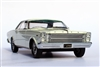 1966 Ford Galaxie 500 7-Litre Hardtop Barn Find Edition in Wimbledon White 1:24