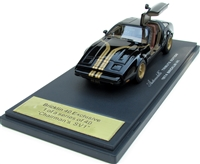 1974 Bricklin SV1  Tribute Edition in Chairman's Black 1:43 Hand-signed by Malcolm Bricklin