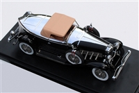 1932 Duesenberg J Murphy-bodied Torpedo Convertible Coupe Homage Edition Black 1:43
