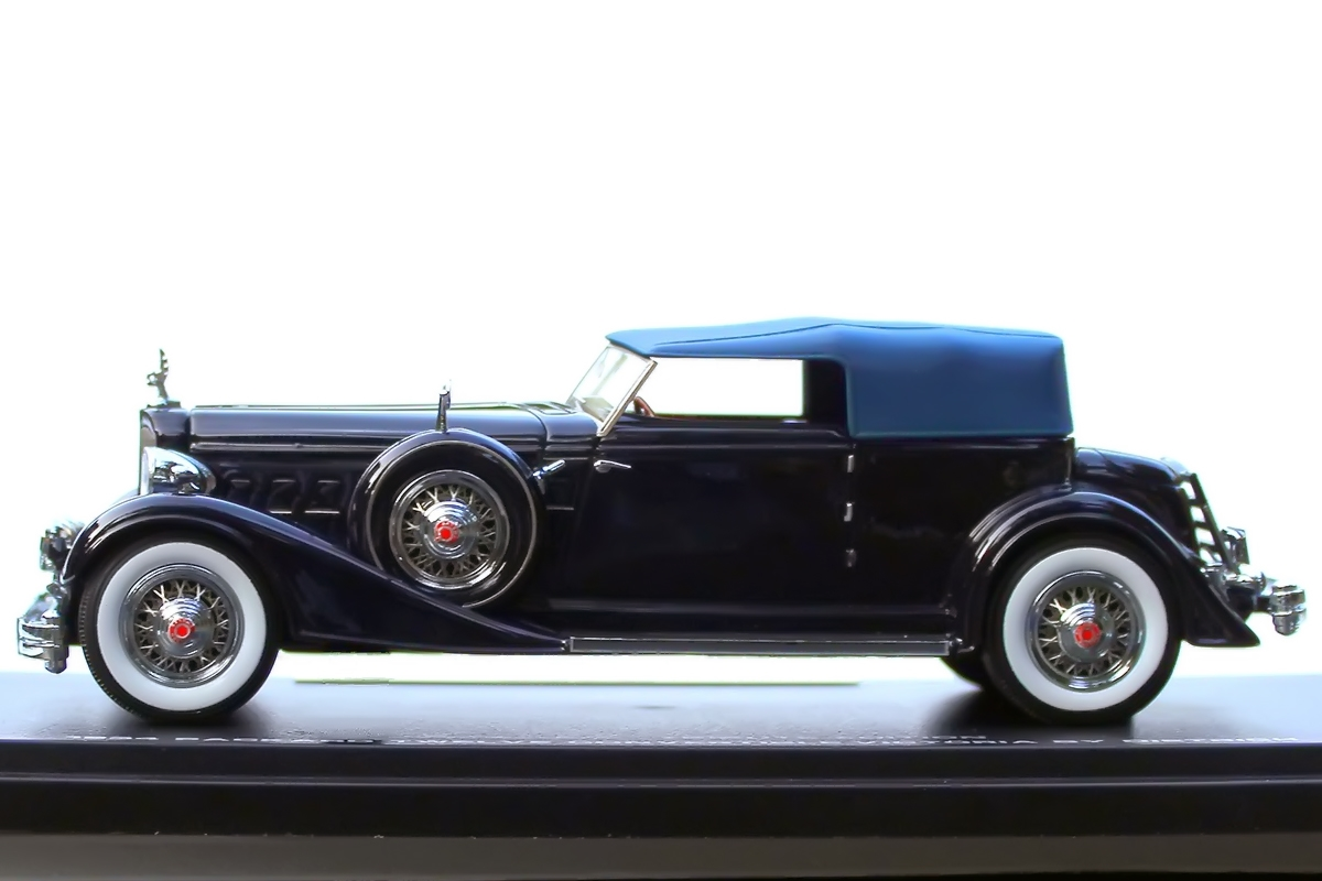 1934 Packard Twelve Convertible Victoria by Dietrich Tribute Edition ...