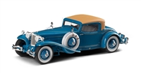 1929 Cord L-29 Coupe by Hayes for Count Alexis de Sakhnoffsky 1:24 Esval
