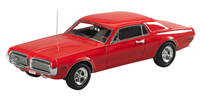 1968 Mercury Cougar Red 1:43 Genuine Ford Parts