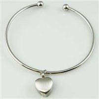 Bangle With Small Heart