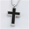 Simple Black And Silver Cross
