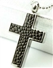 Pebble Pattern Cross