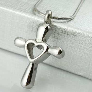 Cross With Open Heart