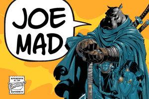 Joe Mad font