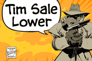 Tim Sale Lower font
