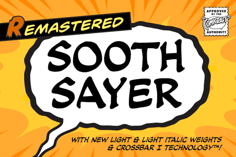 Soothsayer font