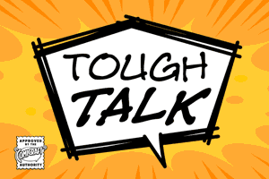 Tough Talk font