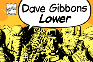 Dave Gibbons Lower font