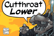 Cutthroat Lower font