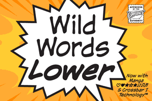 Wildwords Lower font