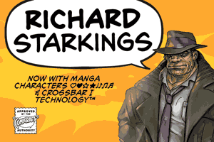 Richard Starkings font
