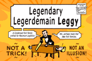 Legendary Legerdemain Leggy font