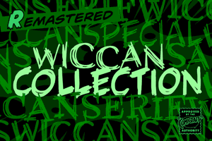 Wiccan font