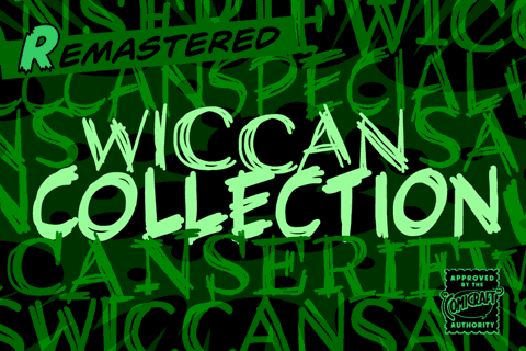 Wiccan Collection font