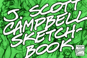 J. Scott Campbell Sketchbook font
