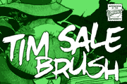 Tim Sale Brush font