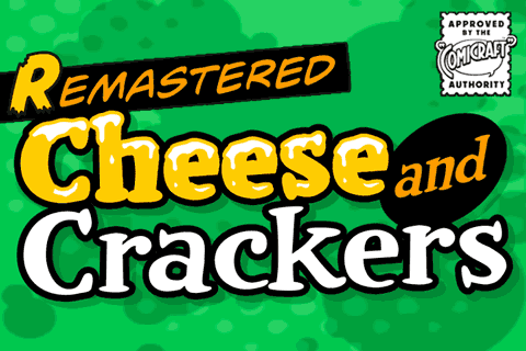 Cheese And Crackers font