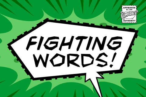 Fighting Words font