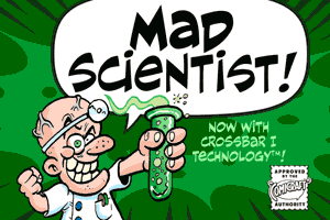 Mad Scientist font