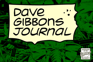 Dave Gibbons Journal font