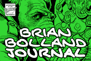Brian Bolland Journal font