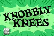 Knobbly Knees font