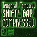 Temporal Shift/Gap Compressed font