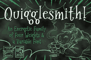 Quigglesmith font