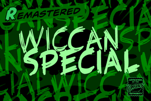 Wiccan Special font
