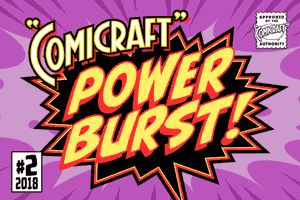 Comicraft Powerburst font