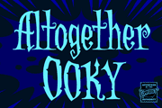 Altogether Ooky font