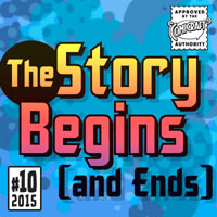 The Story Begins & Ends font