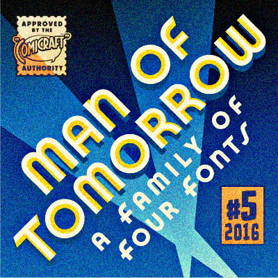 Man of Tomorrow font