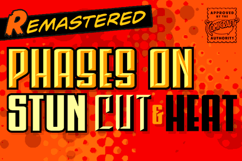 Phases On Stun font